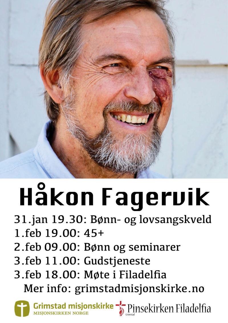 Besøk av Håkon Fagervik!